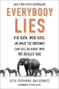 Everybody Lies - Seth Stephens-Davidowitz