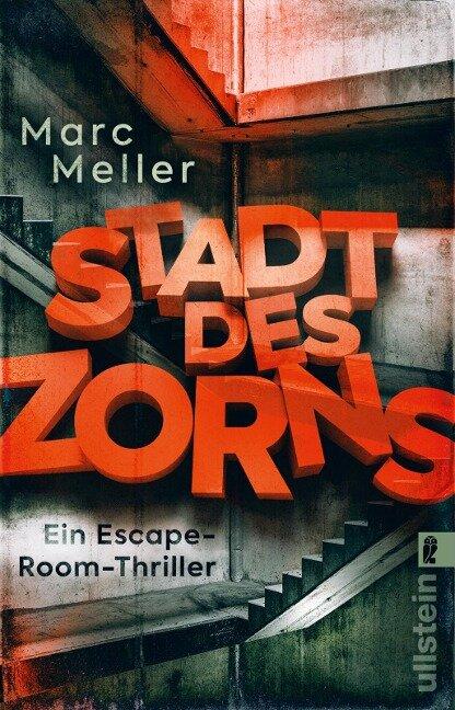 Stadt des Zorns - Marc Meller
