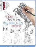 Die Kunst des Zeichnens 15 Minuten - Pferde -