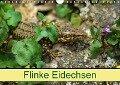 Flinke Eidechsen (Wandkalender 2018 DIN A4 quer) Dieser erfolgreiche Kalender wurde dieses Jahr mit gleichen Bildern und aktualisiertem Kalendarium wiederveröffentlicht. - K. A. Kattobello