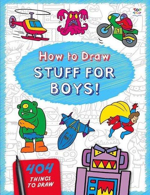 How to Draw Stuff for Boys - Nat Lambert