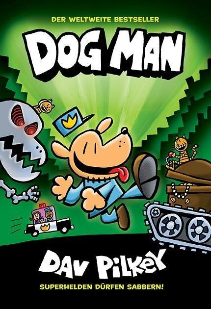 Dog Man 2 - Von der Leine gelassen - Dav Pilkey
