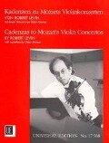 Kadenzen zu Mozarts Violinkonzerten - Robert Levin