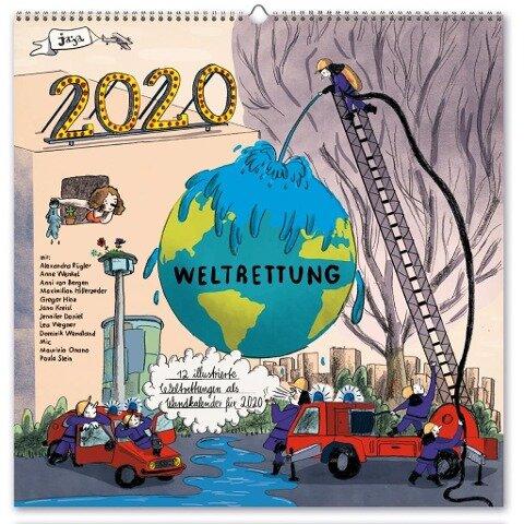 Wandkalender Weltrettung 2020 -