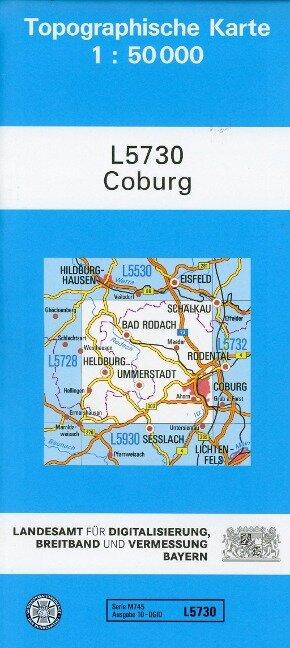 Coburg 1 : 50 000
