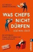 Was Chefs nicht dürfen (und was doch) - Ulf Weigelt, Sabine Hockling