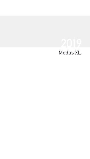 Taschenkalender Modus XL geheftet Einlage 2019 -