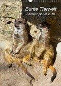 Bunte Tierwelt - Familienplaner 2018 (Wandkalender 2018 DIN A3 hoch) - Ursula Di Chito