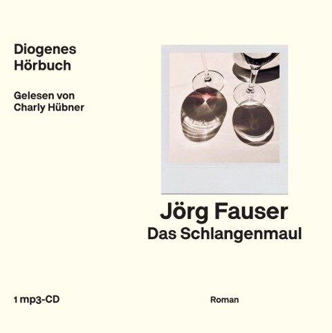 Das Schlangenmaul - Jörg Fauser