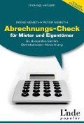 Abrechnungs-Check für Mieter und Eigentümer - Peter Nemeth, Irene Nemeth