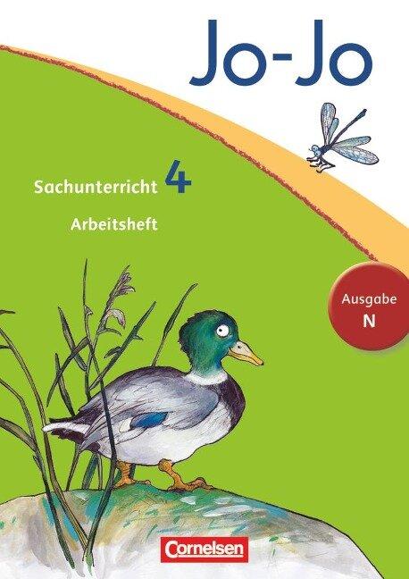 Jo-Jo Sachunterricht - Ausgabe N. 4. Schuljahr - Arbeitsheft - Anna Christ, Britta Corssen, Juliane Groebler, Ulrike Heuer, Patricia Kehrberg