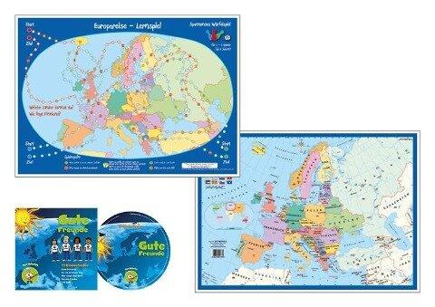 Europareise-Würfelspiel - Heinrich Stiefel