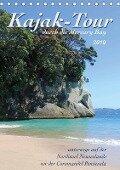 Kajak-Tour durch die Mercury Bay (Tischkalender 2019 DIN A5 hoch) - Jana Thiem-Eberitsch