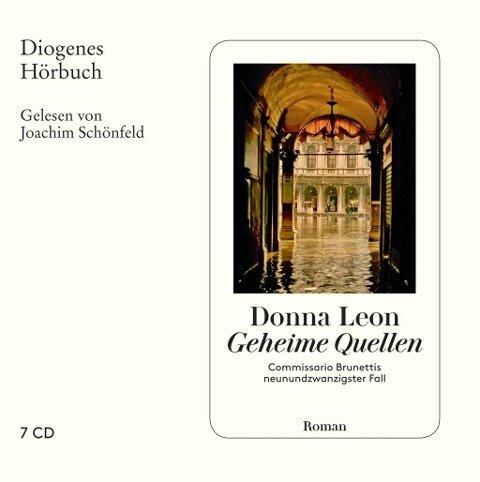 Geheime Quellen - Donna Leon