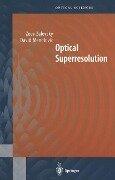 Optical Superresolution - David Mendlovic