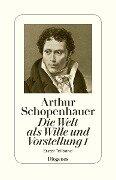 Die Welt als Wille und Vorstellung I - Arthur Schopenhauer