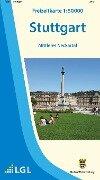 Freizeitkarte Stuttgart und Umgebung 1 : 50 000 -