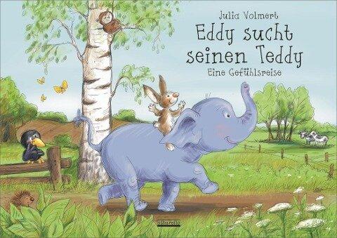Eddy sucht seinen Teddy - Julia Volmert