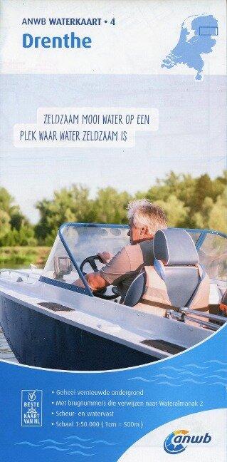 Drenthe 1:50 000 Waterkaart -