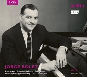 Jorge Bolet: The Berlin Radio Recordings,Vol.3 - Bolet/Atzmon/Radio-Symphonie-Orchester Berlin