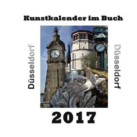 Kunstkalender im Buch - Düsseldorf 2017 - Pierre Sens
