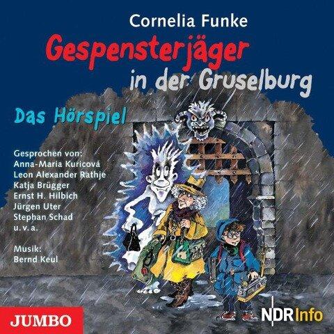 Gespensterjäger 03 in der Gruselburg - Cornelia Funke
