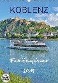 Koblenz Familienplaner (Wandkalender 2019 DIN A3 hoch) - Jutta Heußlein
