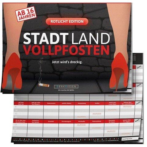 STADT LAND VOLLPFOSTEN® - ROTLICHT EDITION - AB 16 JAHREN -