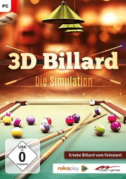 3D Billard - Die Simulation. Für Windows 7/8/10 -