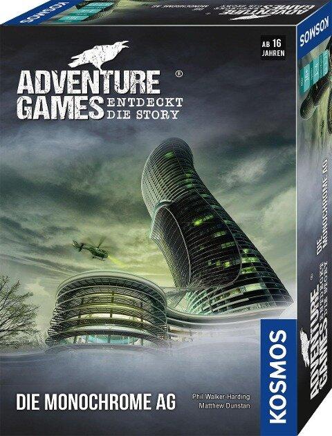 Adventure Games - Die Monochrome AG -
