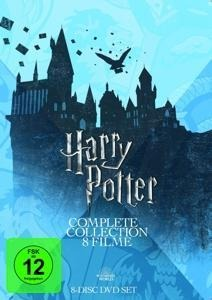 Harry Potter: The Complete Collection - J. K. Rowling, Steve Kloves, Michael Goldenberg, John Williams, William Ross