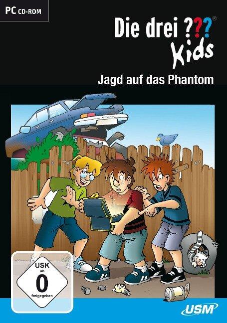Die drei ??? Kids. Jagd auf das Phantom (drei Fragezeichen) CD-ROM -