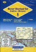 KuF Schweiz Digitale Wanderkarte 03 Berner Oberland Ost-Jungfrau 1 : 50 000 -