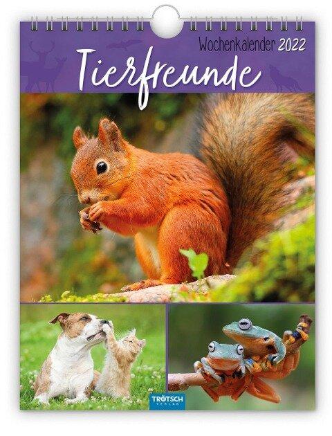 """Wochenkalender """"Tierfreunde"""" 2022 -"""