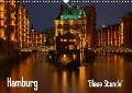 "Hamburg ""Blaue Stunde"" (Wandkalender 2018 DIN A3 quer) - Thomas Paragnik"
