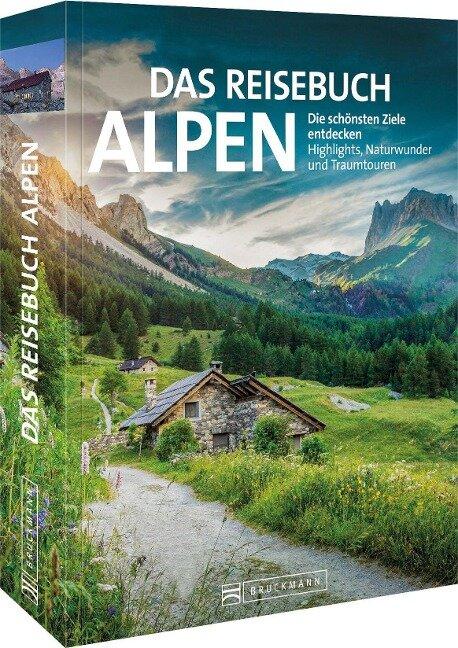 Das Reisebuch Alpen - Eugen E. Hüsler