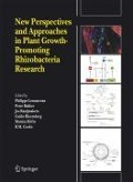 New Perspectives and Approaches in Plant Growth-Promoting Rhizobacteria Research -