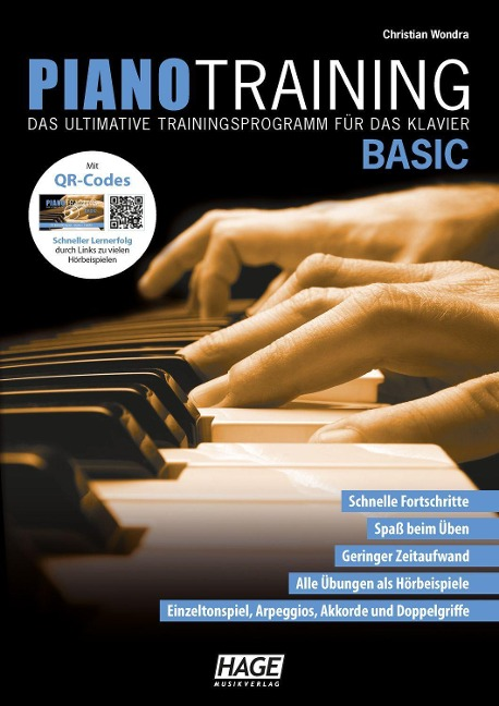 Piano Training Basic (mit CD) - Christian Wondra