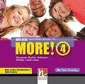 MORE! 4 DVD-ROM mit Schularbeiten-Training - Günter Gerngross, Herbert Puchta, Christian Holzmann, Jeff Stranks, Peter Lewis-Jones