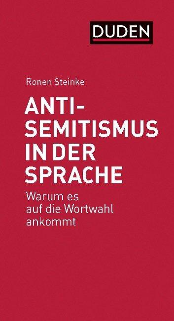 Antisemitismus in der Sprache - Ronen Steinke