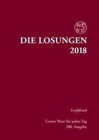 Die Losungen für Deutschland 2018 Grossdruck gebunden -