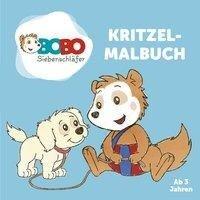 Bobo Siebenschläfer Kritzelmalbuch - ab 2 Jahren - Jep Animation