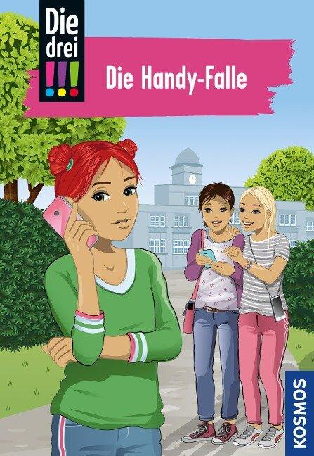 Die drei !!!, 1, Die Handy-Falle (drei Ausrufezeichen) - Maja von Vogel
