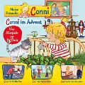 Meine Freundin Conni - 10: Conni im Advent / Conni fährt Schlittschuh / Conni lässt Drachen steigen / Conni und der fiese Schnupfen (Vier Hörspiele zur TV-Serie) -