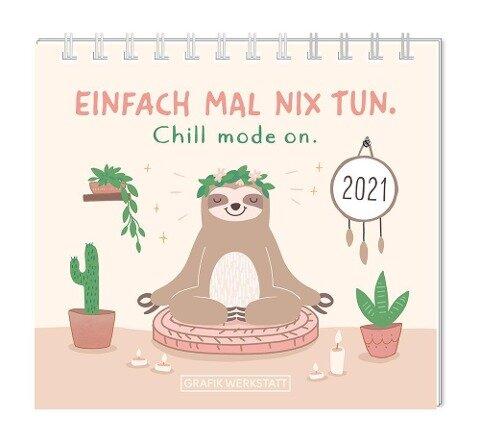 "Mini-Kalender 2021 ""Einfach mal nix tun"" -"