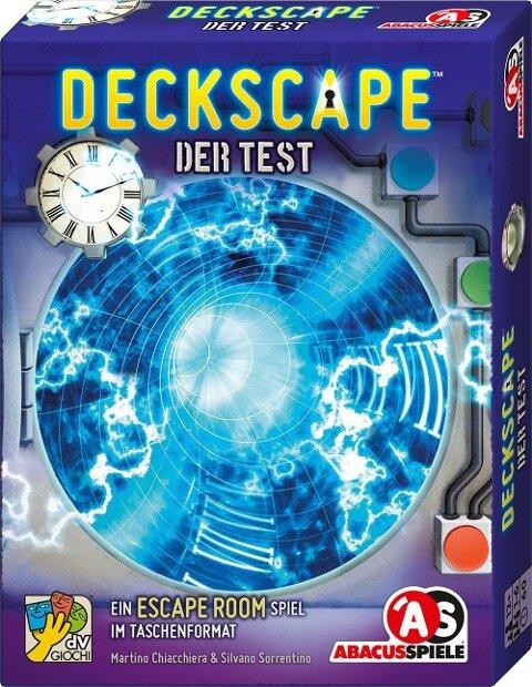 Deckscape - Der Test - Martino Chiacchiera, Silvano Sorrentino