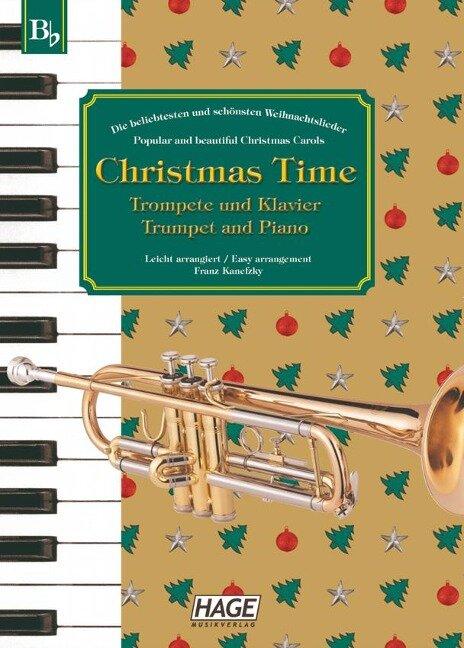 Christmas Time für Trompete und Klavier - Franz Kanefzky