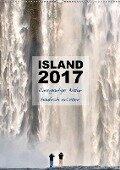 Island 2017 - Einzigartige Natur hautnah erleben (Wandkalender 2017 DIN A2 hoch) - Dirk Vonten