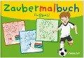 Zaubermalbuch Fußball -