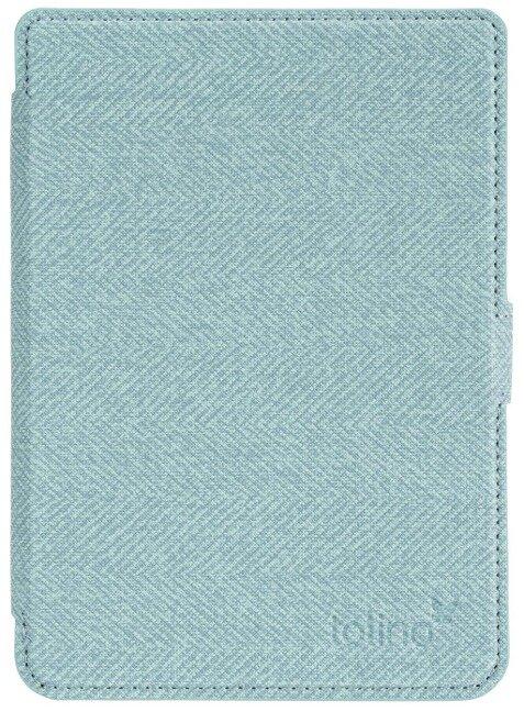 tolino page 2 - Tasche Slim Blau/Gelb -